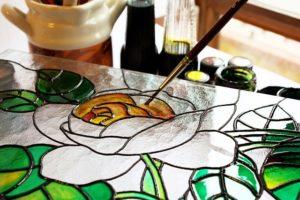 Malerei auf Glas